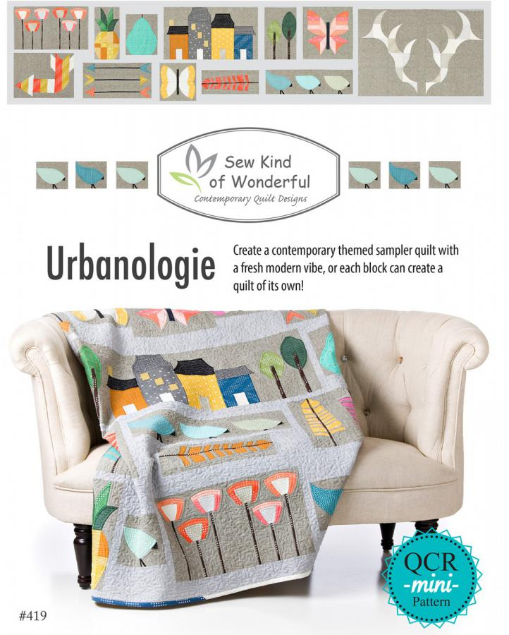 Urbanologie quilt sewing book from Sew Kind of Wonderful