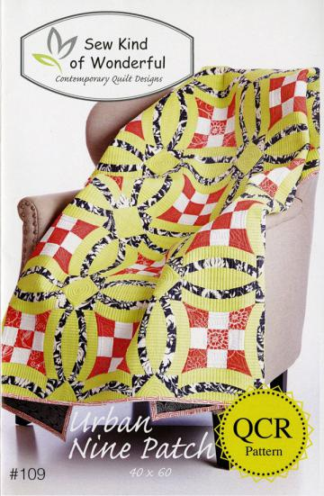 Urban-Nine-Patch-quilt-sewing-pattern-sew-kind-of-wonderful-front