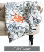 Chic Country quilt sewing pattern from Sew Kind of Wonderful 2
