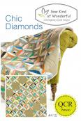 Chic Diamonds quilt sewing pattern from Sew Kind of Wonderful