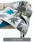 Chic Sisters quilt sewing pattern from Sew Kind of Wonderful 2