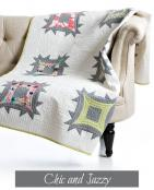 Chic & Jazzy quilt sewing pattern from Sew Kind of Wonderful 2