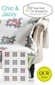 Chic & Jazzy quilt sewing pattern from Sew Kind of Wonderful