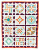 Curve It Up quilt sewing pattern from Sew Kind of Wonderful 4