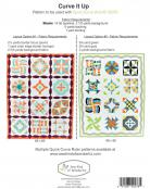 Curve It Up quilt sewing pattern from Sew Kind of Wonderful 1