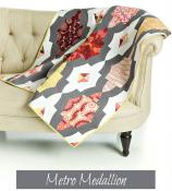 Metro Medallion quilt sewing pattern from Sew Kind of Wonderful 2