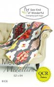 Metro Medallion quilt sewing pattern from Sew Kind of Wonderful
