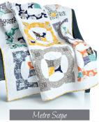 Metro Scope quilt sewing pattern from Sew Kind of Wonderful 2