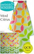 Mod Citrus quilt sewing pattern from Sew Kind of Wonderful