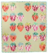 Mod Strawberries quilt sewing pattern from Sew Kind of Wonderful 3