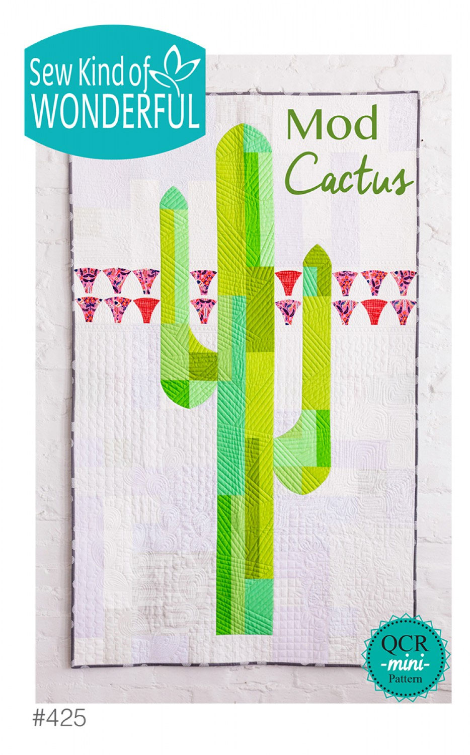 Mod-Cactus-quilt-sewing-pattern-sew-kind-of-wonderful-front