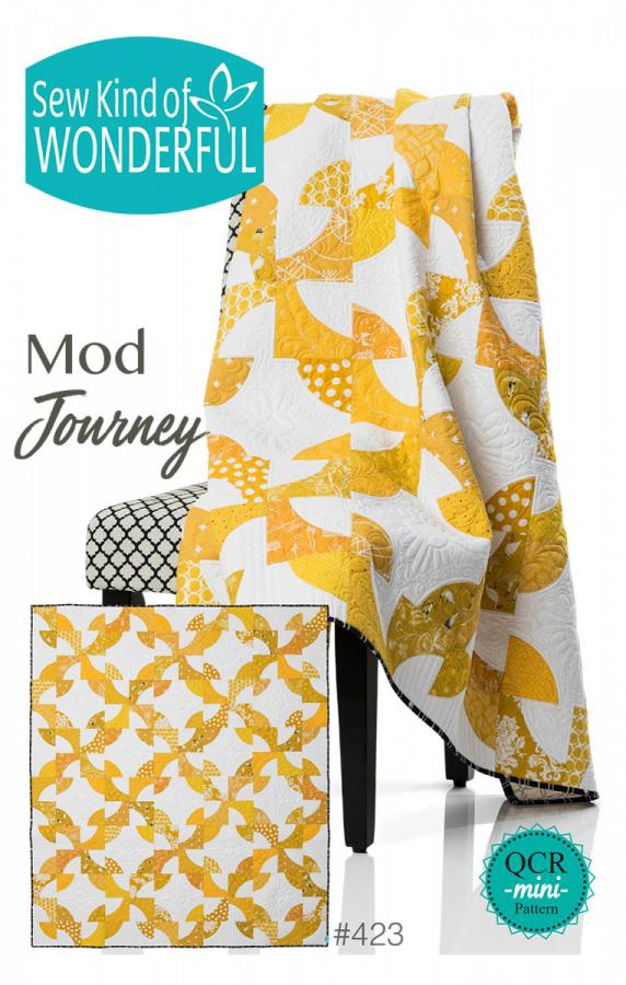 Mod Journey quilt sewing pattern from Sew Kind of Wonderful