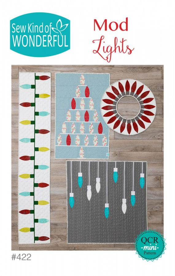 Mod Lights Quilt sewing pattern from Sew Kind of Wonderful