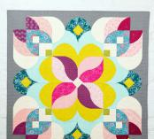 Posh Blossom quilt sewing pattern from Sew Kind of Wonderful 2