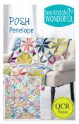 Posh Penelope quilt sewing pattern from Sew Kind of Wonderful