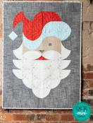 Posh Santa quilt sewing pattern from Sew Kind of Wonderful 2