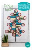 Posh Topiary quilt sewing pattern from Sew Kind of Wonderful