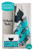 Whale Tale quilt sewing pattern from Sew Kind of Wonderful