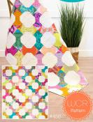 Curvy Bow Tie quilt sewing pattern from Sew Kind of Wonderful 2