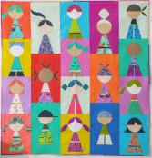 Happy Together quilt sewing pattern from Sew Kind of Wonderful 2