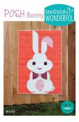 Posh Bunny quilt sewing pattern from Sew Kind of Wonderful