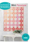 Mini Penelope quilt sewing pattern from Sew Kind of Wonderful