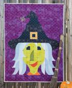 Posh Pocus witch wall hanging/quilt sewing pattern from Sew Kind of Wonderful 2