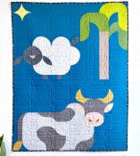 Starry Night Cow Bonus Block quilt sewing pattern from Sew Kind of Wonderful 2