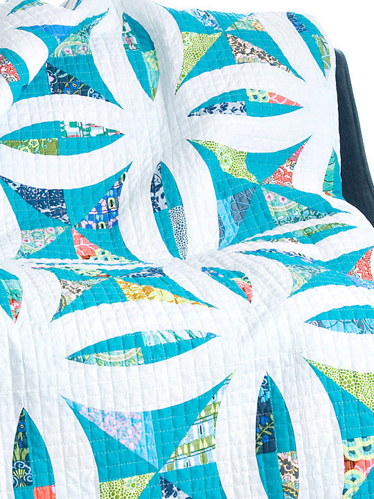 Metro Lattice Quilt Sewing Pattern From Sew Kind Of Wonderful