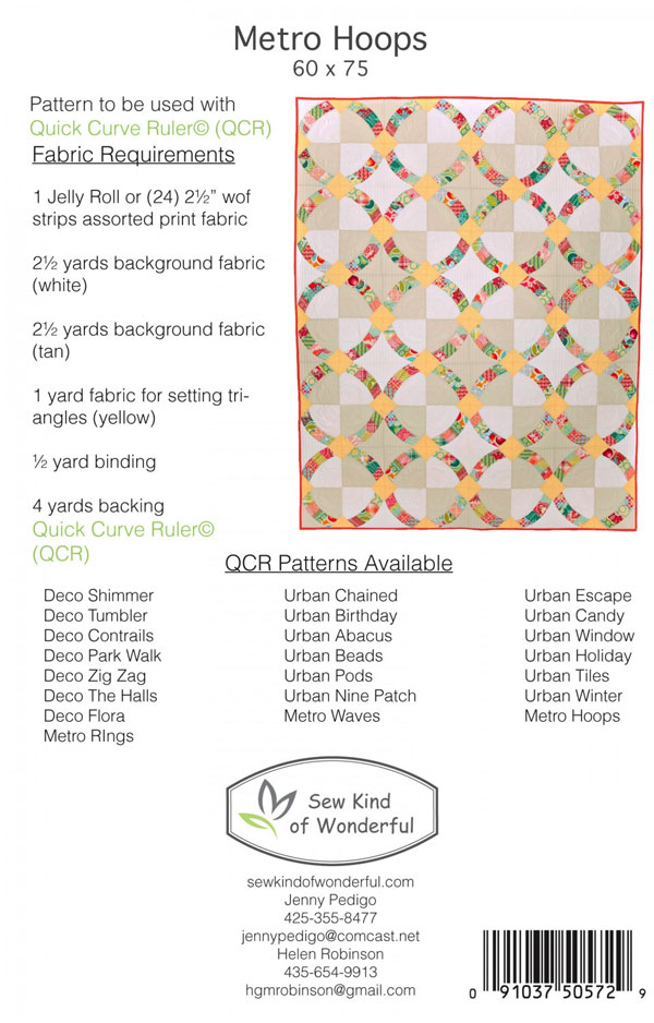 Metro_Hoops_403_quilt_sewing_pattern_fromSewKindOfWonderful_BACK