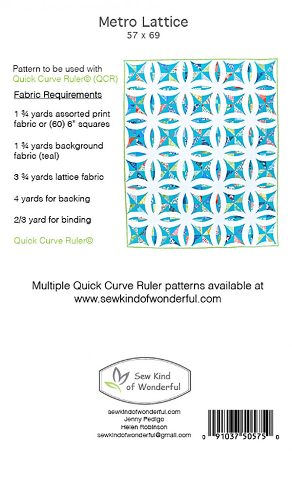 Metro_Lattice_quilt_sewing_pattern_BACK