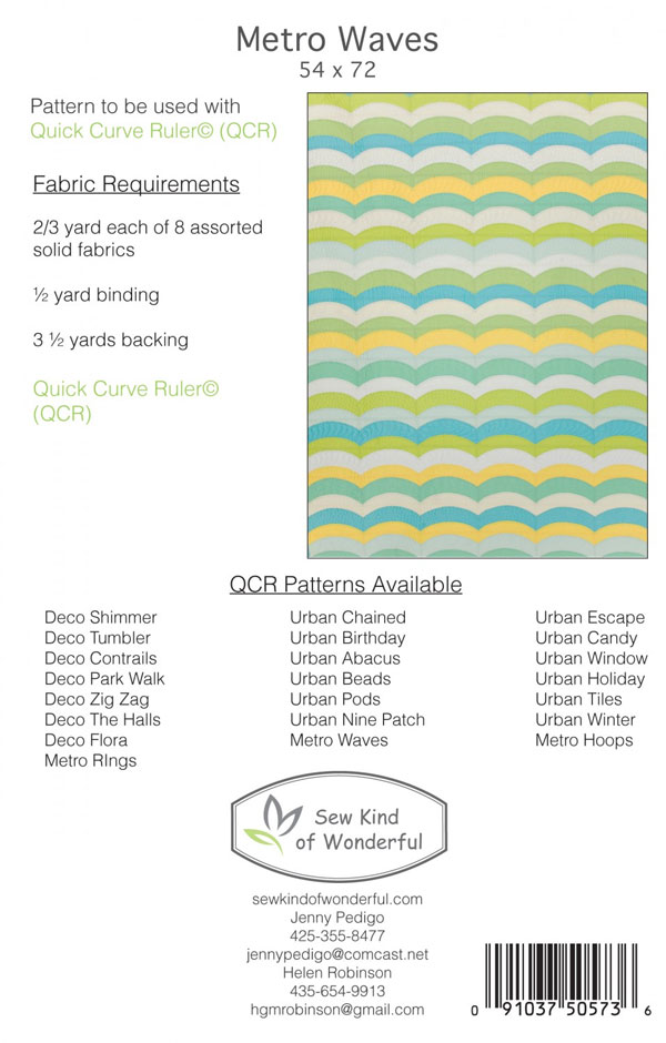 Metro_Waves_401_quilt_sewing_pattern_BACK