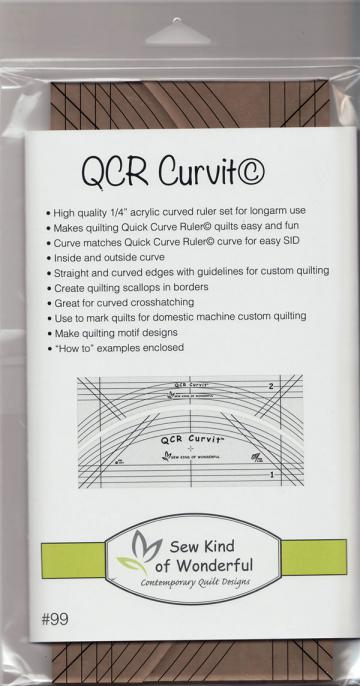 QCR Curvit Ruler from Sew Kind of Wonderful