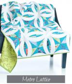 Metro Lattice Quilt sewing pattern from Sew Kind of Wonderful 3