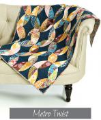 Metro Twist Quilt sewing pattern from Sew Kind of Wonderful 3