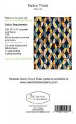 Metro Twist Quilt sewing pattern from Sew Kind of Wonderful 2