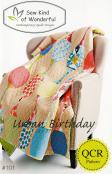 Urban Birthday Quilt sewing pattern from Sew Kind of Wonderful