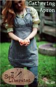 Gathering Apron sewing pattern from Sew Liberated