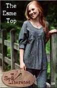 The Esme Top sewing pattern from Sew Liberated