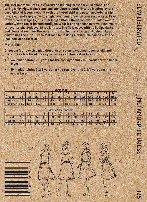 Metamorphic-dress-sewing-pattern-Sew-Liberated-back