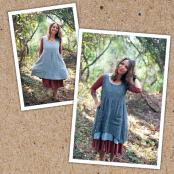 Metamorphic Dress sewing pattern from Sew Liberated 2