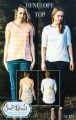 Penelope-Top-sewing-pattern-Sew-Liberated-front