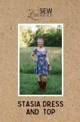 Stasia Dress & Top sewing pattern from Sew Liberated
