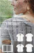Aida Top sewing pattern from Sew Liberated 1