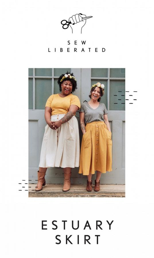 Estuary Skirt sewing pattern from Sew Liberated