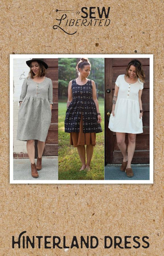 Hinterland Dress sewing pattern from Sew Liberated