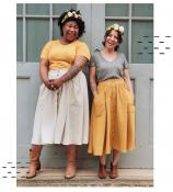 Estuary Skirt sewing pattern from Sew Liberated 2