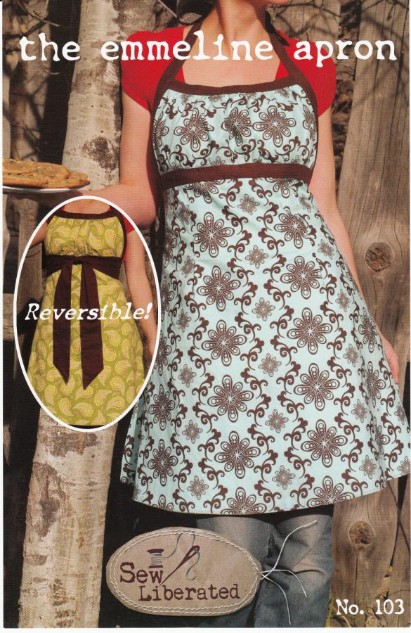 Emmeline Apron sewing pattern from Sew Liberated