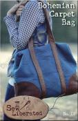 Bohemian Carpet Bag sewing pattern from Sew Liberated