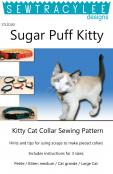 Print - Sugar Puff Kitty Collar sewing pattern from Sew TracyLee Designs